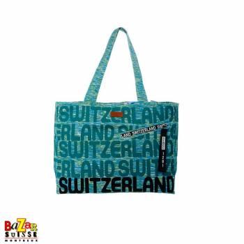 Sac à main Robin Ruth - Switzerland bleu/vert