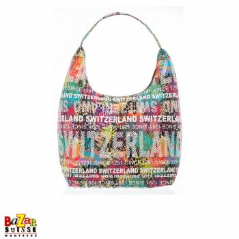 Robin Ruth shoulder bag - Switzerland flowers multicolored