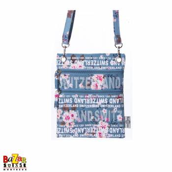 Robin Ruth bag - Switzerland flowers blue