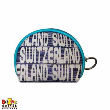 Robin Ruth coin bag - Switzerland blue