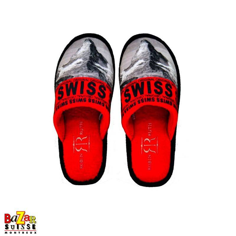 Switzerland Matterhorn slippers