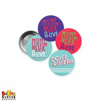Pins Montreux Alive - Dolce Riviera