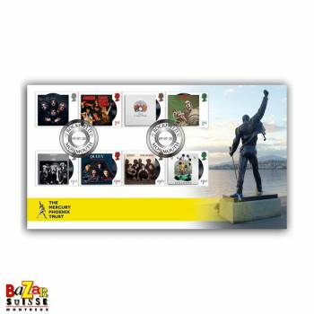 Timbres - A Tribute to Queen First Day Cover