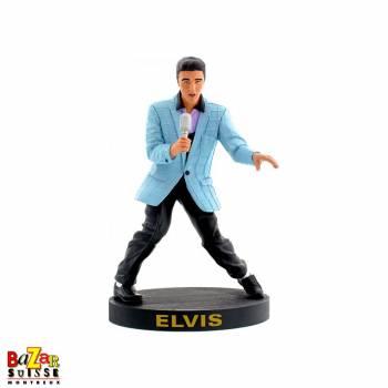 Figurine Elvis Presley 52 Blue suit bobblehips