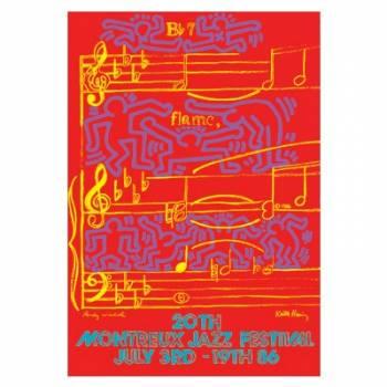 Poster Montreux Jazz Festival 1986
