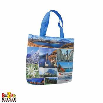 Foldable bag images of Switzerland