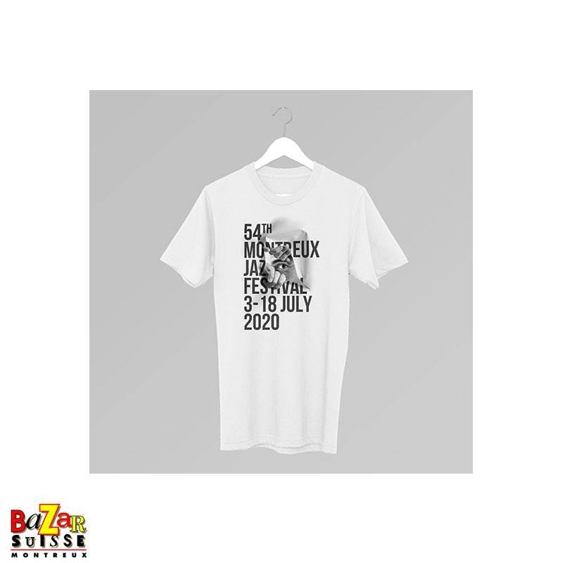 Official 2020 Montreux Jazz Festival T-shirt