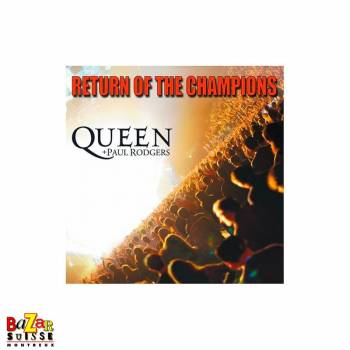 CD Queen + Paul Rodgers - Return Of The Champions