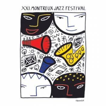 Poster Montreux Jazz Festival 1987