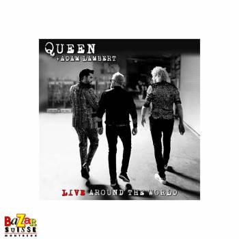 CD Queen + Adam Lambert - Live Around The World
