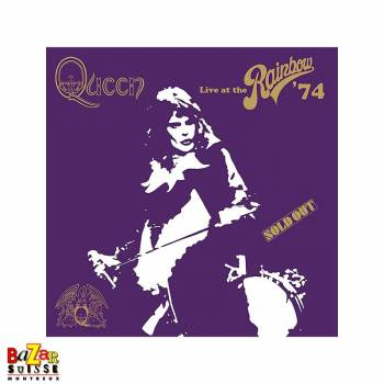 Double LP Queen - Live At The Rainbow '74