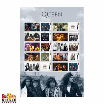 Timbres - Queen Album Cover Collector's Sheet