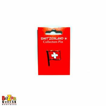 Swiss flag pins