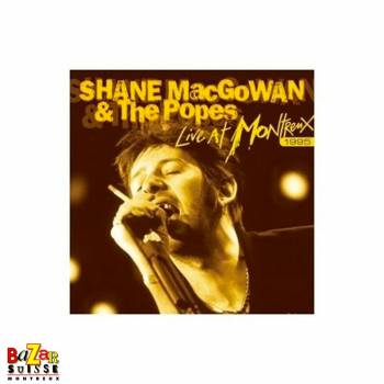 CD + DVD Shane Macgowan and The Popes - Live At Montreux 1995