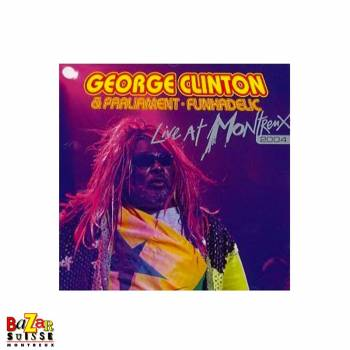 CD George Clinton & Parliament / Funkadelic ‎– Live At Montreux 2004