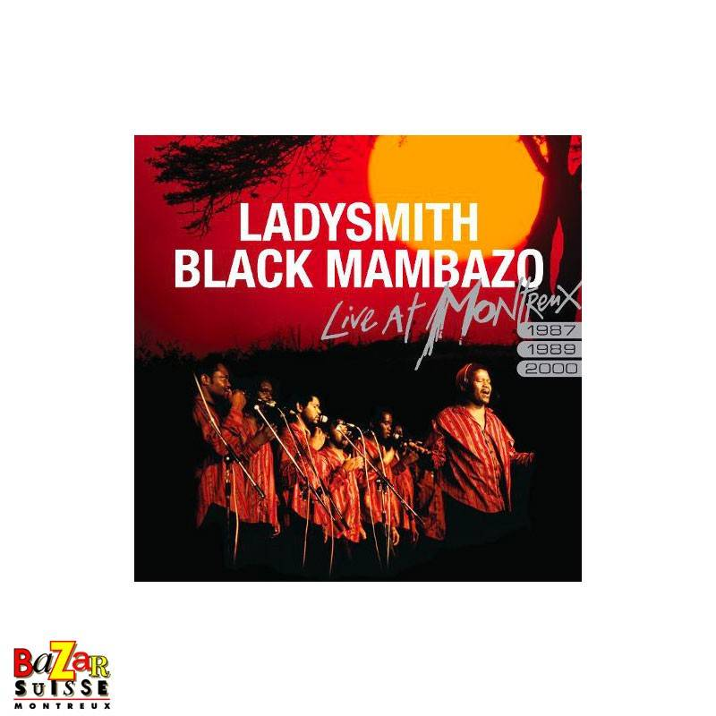 CD Ladysmith Black Mambazo ‎– Live At Montreux 1987/1989/2000