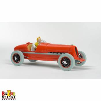 The Cars of Tintin - The red racing car of the Pharaoh's cigars 1/24