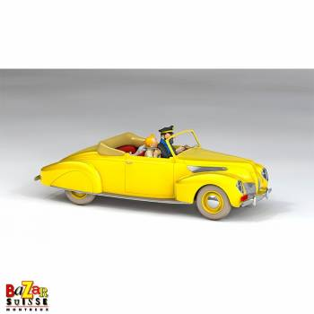 The Cars of Tintin - Haddock Ford Zephyr Convertible 1/24