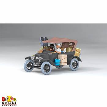 The Cars of Tintin - Ford T Congo 1/24