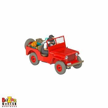 Les Voitures de Tintin – Jeep Rouge 1/24e