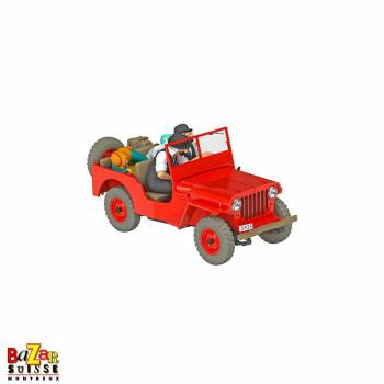 The Cars of Tintin - Jeep Red 1/24