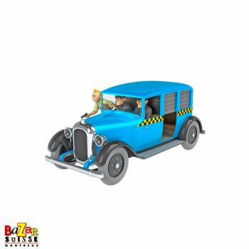 The Cars of Tintin - Chicago Taxi 1/24
