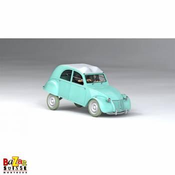 Les Voitures de Tintin – La Citroën 2CV des Dupondt 1/24e