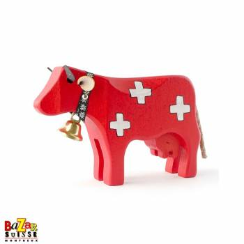 Vache en bois suisse - moyenne