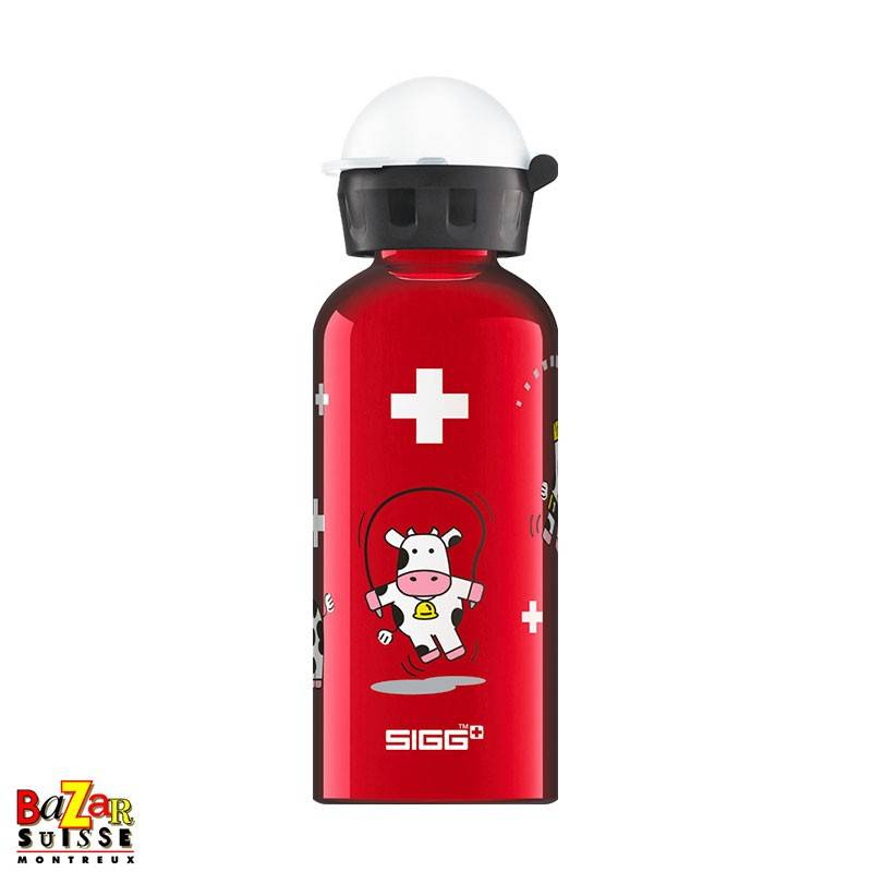 """Sigg bottle """"Funny Cows"""""""