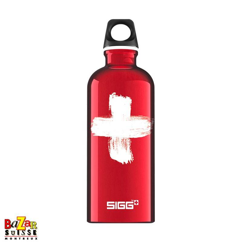 "Sigg bottle ""Swiss Red"""