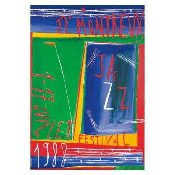 Poster Montreux Jazz Festival 1988