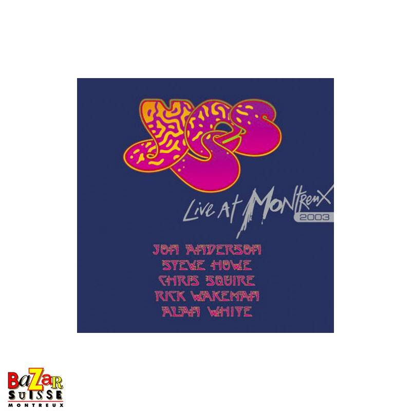 CD Yes – Live at Montreux 2003