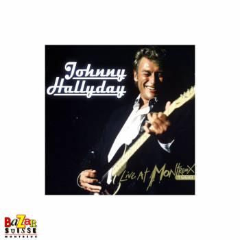 CD Johnny Hallyday – Live at Montreux 1988