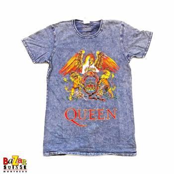 T-shirt Queen Crest Denim