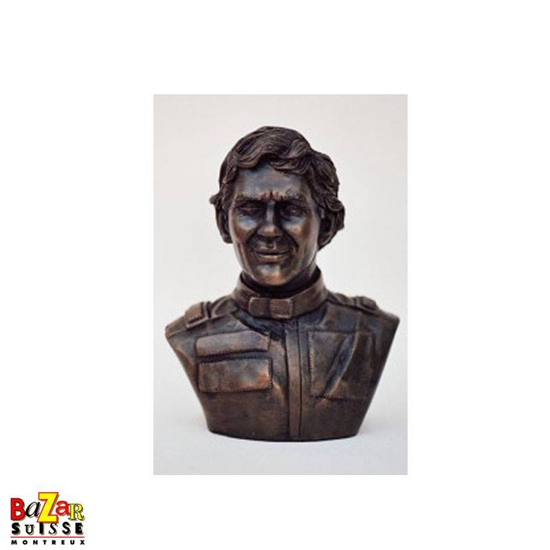Figurine homage to Ayrton Senna Formula-1 driver