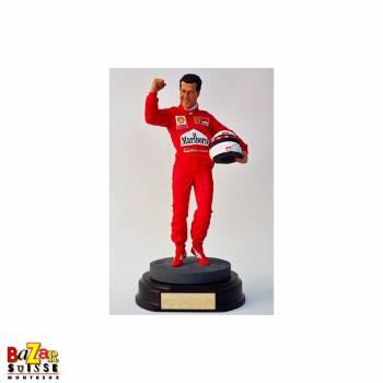 Michael Schumacher Formula-1 driver figurine