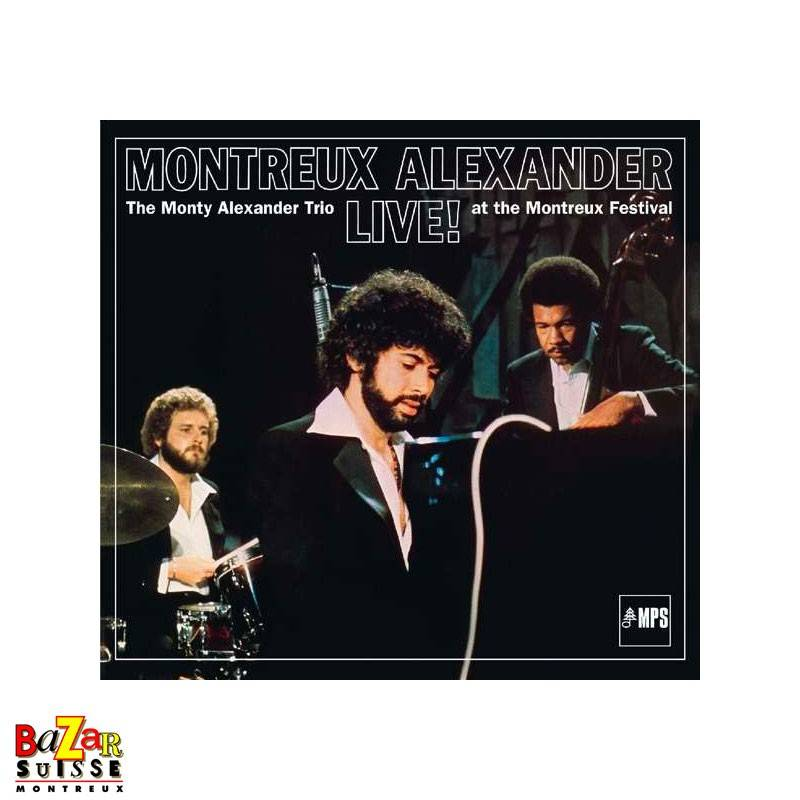 CD The Monty Alexander Trio – Live at Montreux 1976