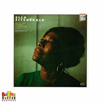 CD Ella Fitzgerald With The Tommy Flanagan Trio – Live At Montreux 1977