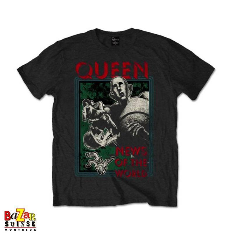 T-shirt Queen News of the World