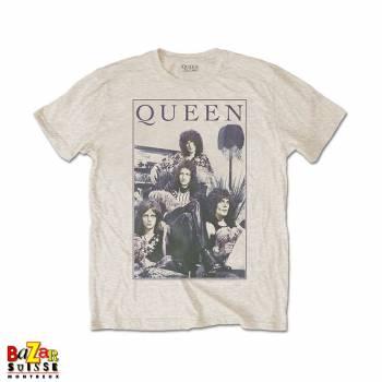 T-shirt Queen vintage frame
