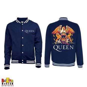 Zipped Hoodie Queen Crest