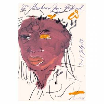 Poster Montreux Jazz Festival 1989