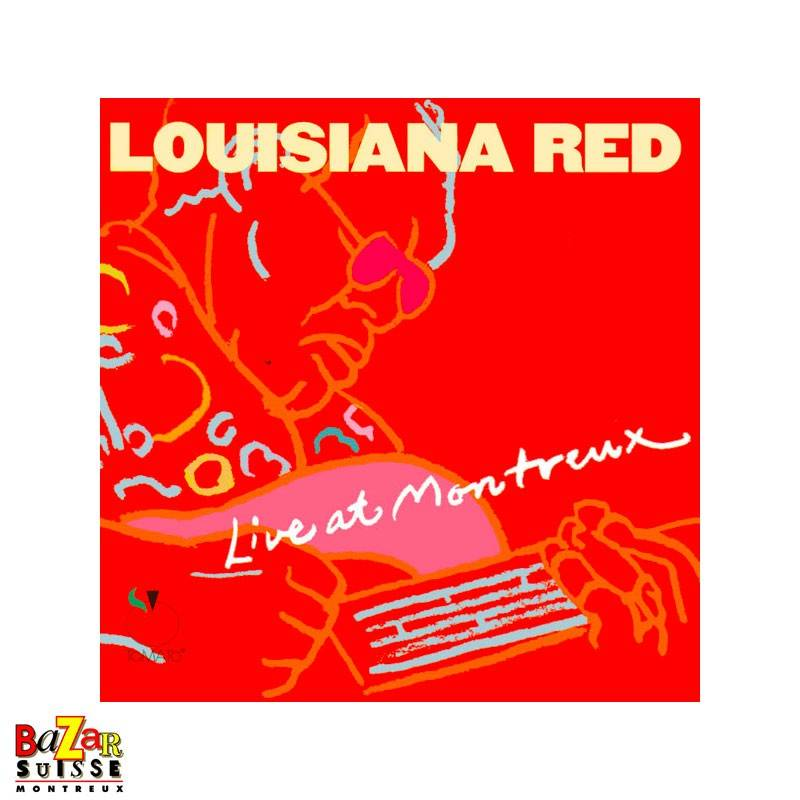 CD Louisiana Red – Live At Montreux 1975