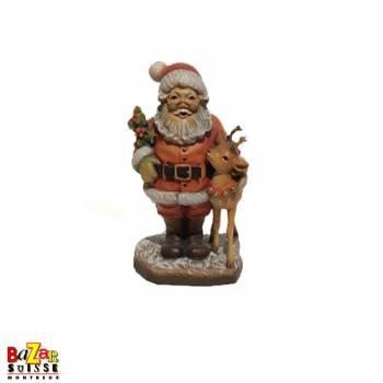 Père Noël avec son renne