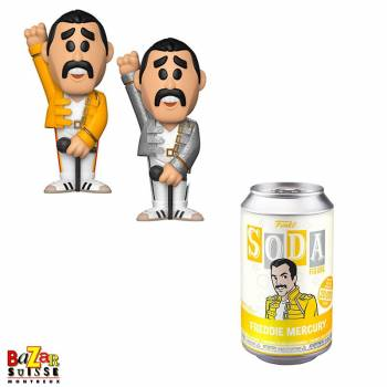 QUEEN FUNKO Pop ! Rock figurine Freddie Mercury soda