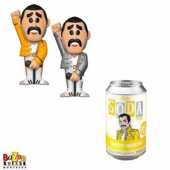 QUEEN FUNKO Pop ! Rock figurine soda Freddie Mercury