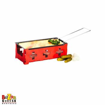 Raclette H'eat Cheese at home - Swiss cross