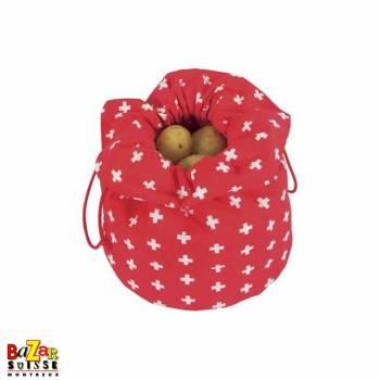 potato bag - Swiss cross