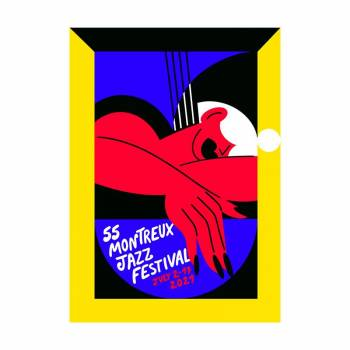 Poster Montreux Jazz festival 2021