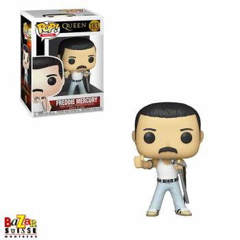 QUEEN FUNKO Pop ! Rock figurine Freddie Mercury Radio Gaga